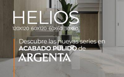 DESCUBRE HELIOS DE ARGENTA. NUEVA SERIE EN ACABADO PULIDO