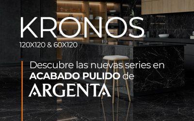 DESCUBRE KRONOS DE ARGENTA. NUEVA SERIE EN ACABADO PULIDO