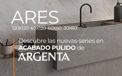 DESCUBRE ARES DE ARGENTA. NUEVA SERIE EN ACABADO PULIDO