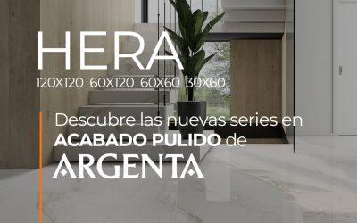 DESCUBRE HERA DE ARGENTA. NUEVA SERIE EN ACABADO PULIDO